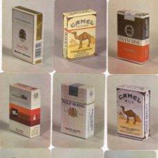 Coleccionismo Calendarios: LOTE DE 18 CALENDARIOS CON PUBLICIDAD DE TABACO AÑO 1988 PORTUGAL. SIN NUMERAR.. Lote 56810523