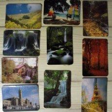 Coleccionismo Calendarios: LOTE DIEZ CALENDARIOS DE PAISAJES. Lote 56860682