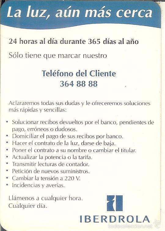 CALENDARIO PUBLICITARIO - 1997 - IBERDROLA (Coleccionismo - Calendarios)