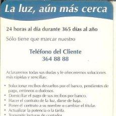 Coleccionismo Calendarios: CALENDARIO PUBLICITARIO - 1997 - IBERDROLA. Lote 56938323
