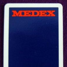 Coleccionismo Calendarios: CALENDARIO FOURNIER. MEDEX. 1988. Lote 56972647
