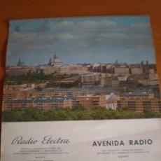 Coleccionismo Calendarios: CALENDARIO PARED AÑO 1966 PROPAGANDA PHILIPS. Lote 57065012