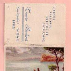 Coleccionismo Calendarios: CALENDARIO DEL AÑO 1965 PUBLICIDAD DE LIBRERÍA TOMÁS DE REUS ALMANAQUE. Lote 57253921