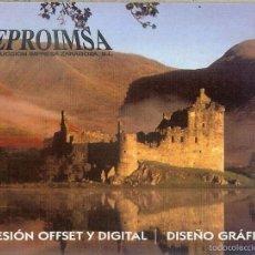Coleccionismo Calendarios: CALENDARIO PUBLICITARIO - 2011 - REPROIMSA - ZARAGOZA. Lote 57306994