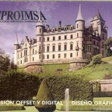 Coleccionismo Calendarios: CALENDARIO PUBLICITARIO - 2011 - REPROIMSA - ZARAGOZA. Lote 57307029