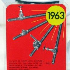 Coleccionismo Calendarios: CALENDARIO 1963. Lote 57325309