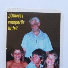 Coleccionismo Calendarios: CALENDARIO DE 2001 CENTRO DE ORIENTACION VACACIONAL , AGUSTINO RECOLETO. Lote 57330824