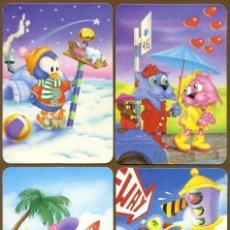 Coleccionismo Calendarios: 4 CALENDARIOS BOLSILLO 1996. Lote 57352067