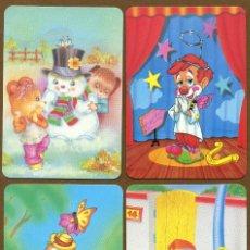 Coleccionismo Calendarios: 4 CALENDARIOS BOLSILLO 1997. Lote 57352122