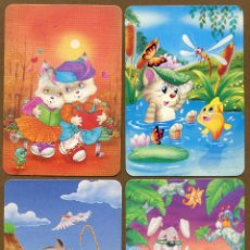 Coleccionismo Calendarios: 4 CALENDARIOS BOLSILLO 1997. Lote 57352149