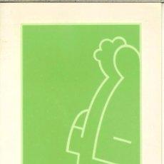 Coleccionismo Calendarios: CALENDARIO PUBLICITARIO DÍPTICO - 1991 1992 - GENERALITAT VALENCIANA . Lote 57399037