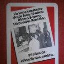 Coleccionismo Calendarios: CALENDARIO DE BOLSILLO - FOURNIER - CAJA DE AHORROS Y MONTE DE PIEDAD ZARAGOZA ARAGÓN Y RIOJA 1975. Lote 57457448