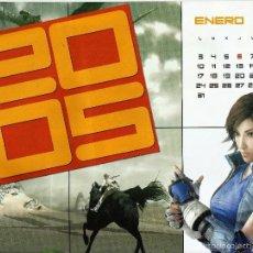 Coleccionismo Calendarios: *CALENDARIO 2005 DE HOBBY CONSOLAS*. Lote 57762568