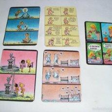 Coleccionismo Calendarios: 5 CALENDARIOS DIBUJOS 1995 - 1987 - 1988 - 2005. Lote 57856553