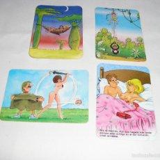 Coleccionismo Calendarios: 4 CALENDARIOS DIBUJOS 1989 - 1998 - 1995 - 2007. Lote 57856613