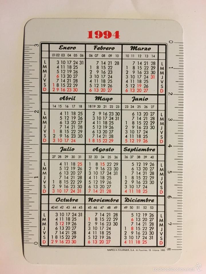 Coleccionismo Calendarios: CALENDARIO FOURNIER -1994- BANCO GUIPUZCOANO - Foto 2 - 57979915