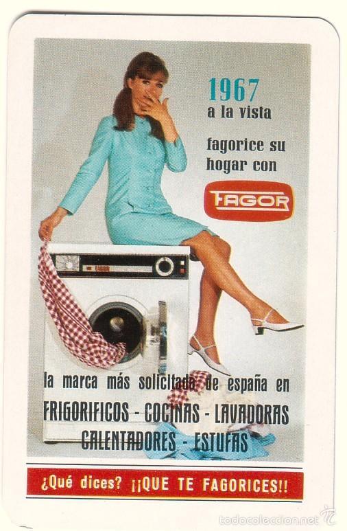 CALENDARIO DE BOLSILLO FAGOR. 1967. (Coleccionismo - Calendarios)