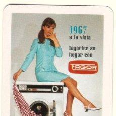 Coleccionismo Calendarios: CALENDARIO DE BOLSILLO FAGOR. 1967.. Lote 58110485