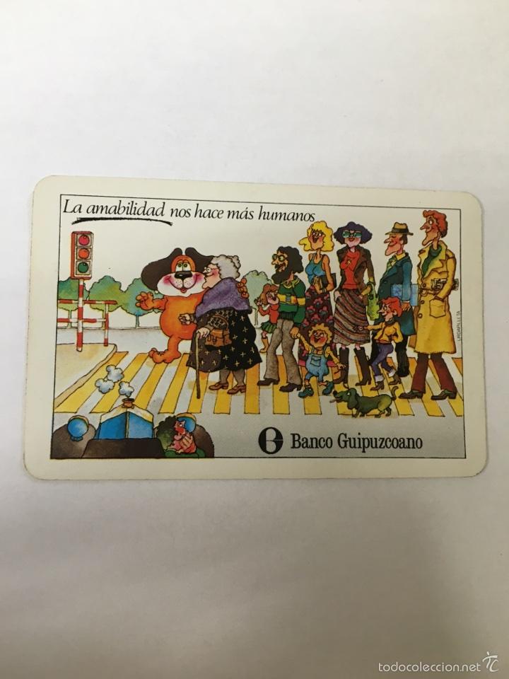 CALENDARIO FOURNIER -1980- BANCO GUIPUZCOANO (Coleccionismo - Calendarios)