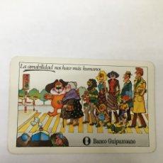 Coleccionismo Calendarios: CALENDARIO FOURNIER -1980- BANCO GUIPUZCOANO. Lote 58143888