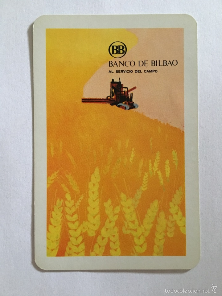 CALENDARIO FOURNIER -1972- BANCO BILBAO (Coleccionismo - Calendarios)