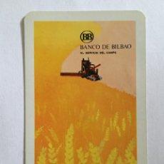 Coleccionismo Calendarios: CALENDARIO FOURNIER -1972- BANCO BILBAO. Lote 58169864
