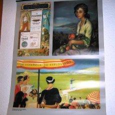 Coleccionismo Calendarios: CALENDARIO PARED 1993- COLECCION UNION ESPAÑOLA DE EXPLOSIVOS- RARO-. Lote 58206120
