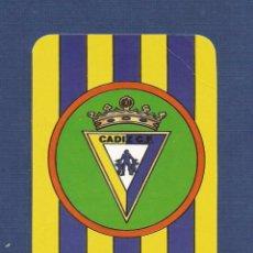 Coleccionismo Calendarios: CALENDARIO DE BOLSILLO CADIZ C.F. CALENDARIO DE FUTBOL TEMPORADA 1985-86 (FECHAS Y PARTIDOS). Lote 58502474
