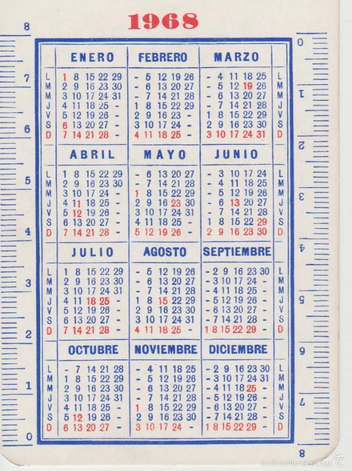 Calendario 1968.Calendarios Calendario 1968 Sold Through Direct Sale