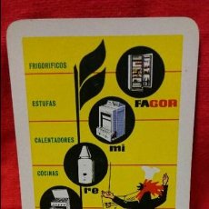 Coleccionismo Calendarios: CALENDARIO HERACLIO FOURNIER FAGOR 1964 MIRAR FOTOS . Lote 59077695