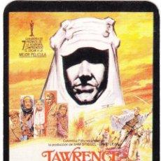 Coleccionismo Calendarios: FUTUR CLUB VIDEO 1992 VILAFRANCA PENEDES LAWRENCE DE ARABIA. Lote 59473284