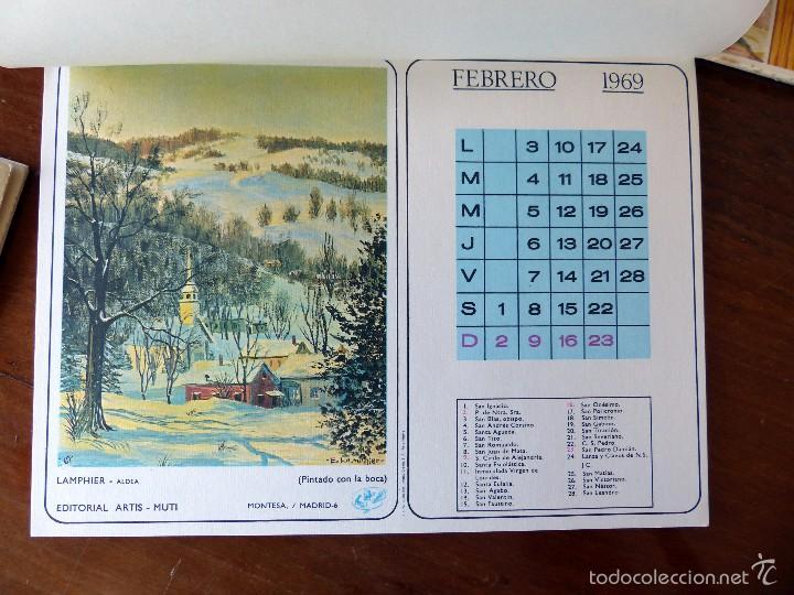 Calendario Artistico.Calendario Artistico 1969 Completo