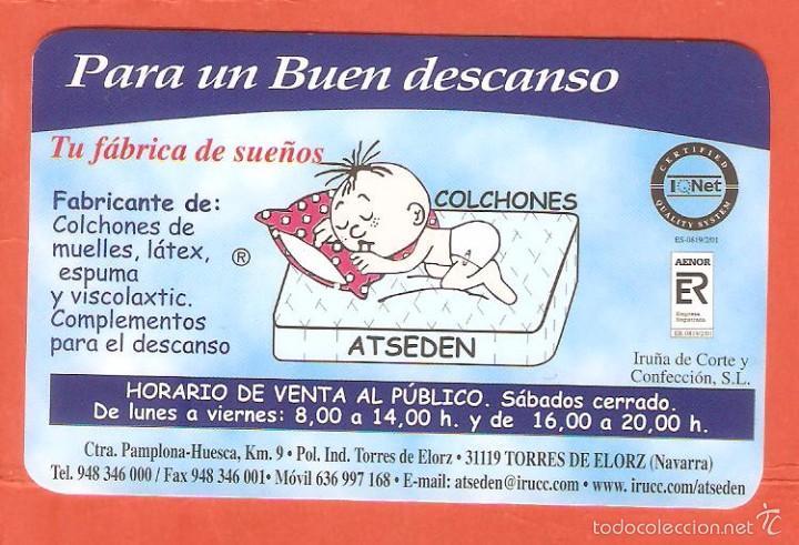 calendario de bolsillo publicitario año 2004 co   Comprar