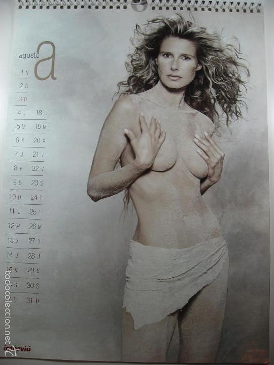 Calendario Anne Igartiburu Revista Interviu Año 2003 Casi Desnuda