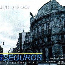 Coleccionismo Calendarios: CALENDARIO 2013 - PUBLICIDAD FE SEGUROS. Lote 147356132
