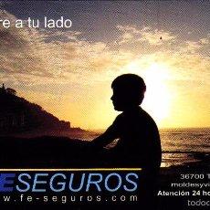 Coleccionismo Calendarios: CALENDARIO 2013 - PUBLICIDAD FE SEGUROS. Lote 147337458