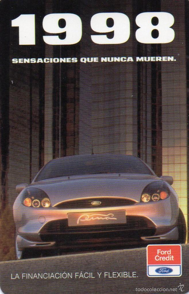 1998 Calendario.Calendario Automoviles Ford Credit Ano 1998 Sold Through