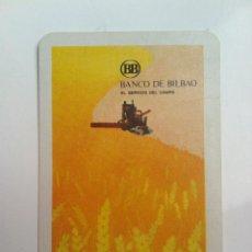 Coleccionismo Calendarios: CALENDARIO FOURNIER BANCO DE BILBAO 1972. Lote 61206823