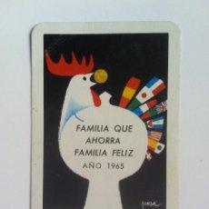 Coleccionismo Calendarios: CALENDARIO FOURNIER CAJA DE AHORROS DE NAVARRA 1965. Lote 61213683