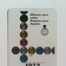Coleccionismo Calendarios: CALENDARIO FOURNIER CAJA DE AHORROS DE NAVARRA 1973. Lote 61214319