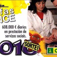 Coleccionismo Calendarios: CALENDARIO 2010 - ONCE - EN GALLEGO. Lote 147337368