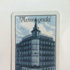Coleccionismo Calendarios: CALENDARIO FOURNIER SEGUROS VASCONGADA 1965. Lote 61426783