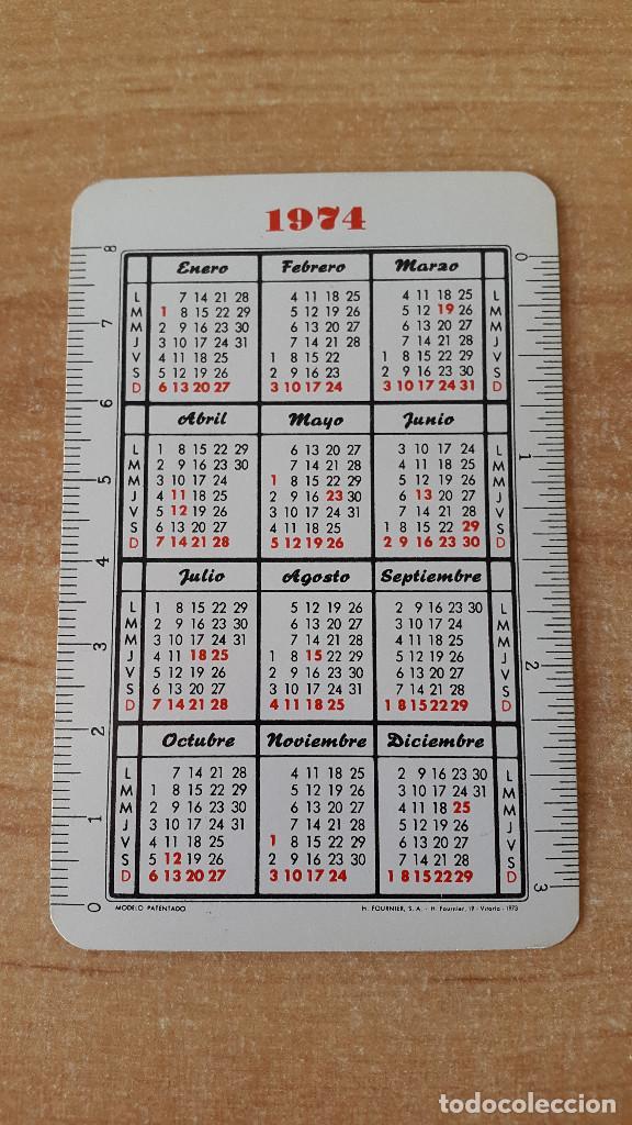 Coleccionismo Calendarios: calendario fournier icona - proteccion aves insectivoras - herrerillo común año 1974 - ver fotos - Foto 2 - 74779353