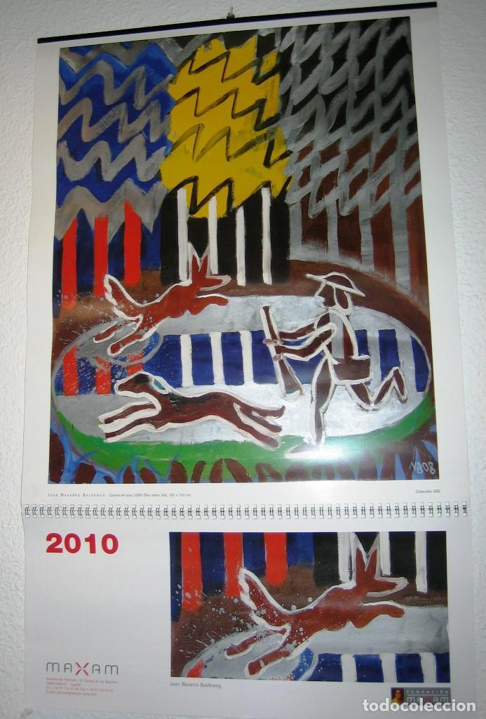 CALENDARIO DE PARED DE UNIÓN ESPAÑOLA DE EXPLOSIVOS- MAXAM- 2010 (Coleccionismo - Calendarios)