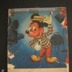 Coleccionismo Calendarios: RATON MICKEY-CALENDARIO DE PARED 1962-MED.17X24 CM- WALT DISNEY -VER FOTOS ADICIONALES - (V-6613). Lote 62004776
