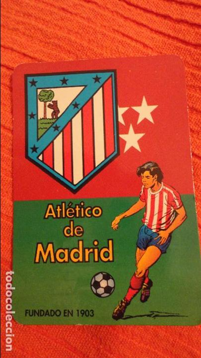Calendario Atletico Madrid.Antiguo Calendario Atletico De Madrid Bar Choni La Linea Cadiz 1997