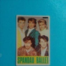 Coleccionismo Calendarios: CALENDÁRIO DE BOLSILLO SPANDAU BALLET 1986. Lote 62913508
