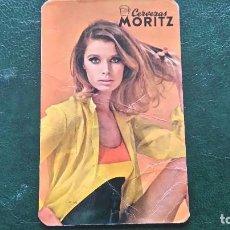 Coleccionismo Calendarios: CALENDARIO CERVEZAS MORITZ DEL AÑO 1968 ( VER FOTOGRAFÍAS) . Lote 63181224