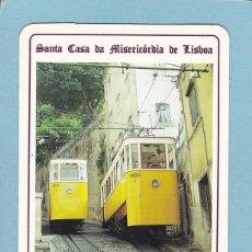 Coleccionismo Calendarios: CALENDARIO EXTRANJERO 1992 - LOTARIA NACIONAL. LOTERIA. ELEVADOR DO LAVRA. TRANVIA. TREN / TRENES. Lote 63401288