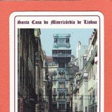 Coleccionismo Calendarios: CALENDARIO EXTRANJERO 1992 - LOTARIA NACIONAL. LOTERIA. ELEVADOR SANTA JUSTA. Lote 63401700